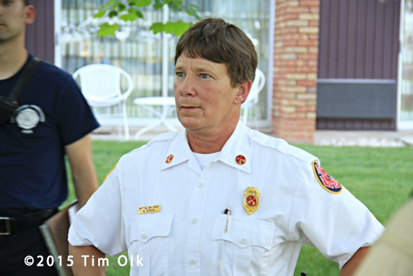 female fire chief