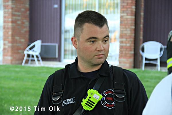 fire department Lieutenant Andy Russell