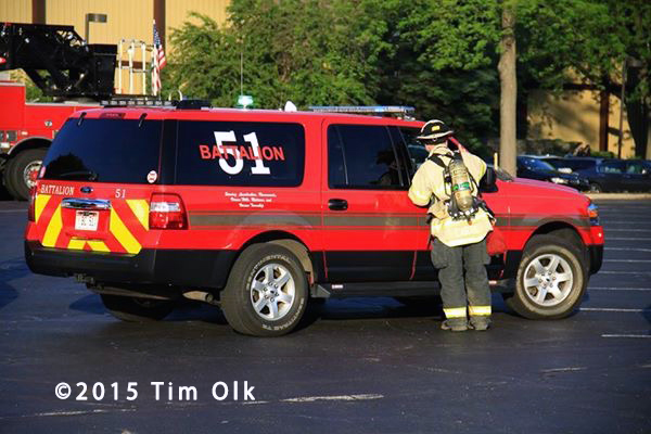 fire chief and incident commander