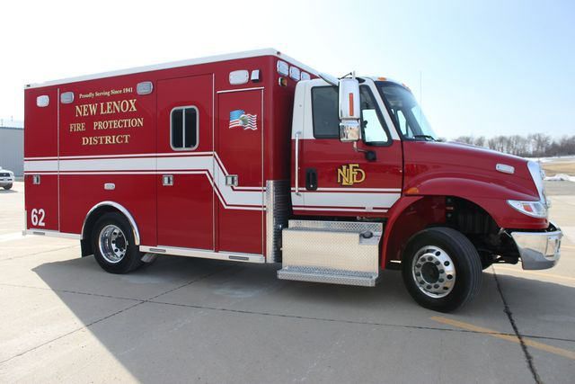 New ambulance for the New Lenox Fire Department