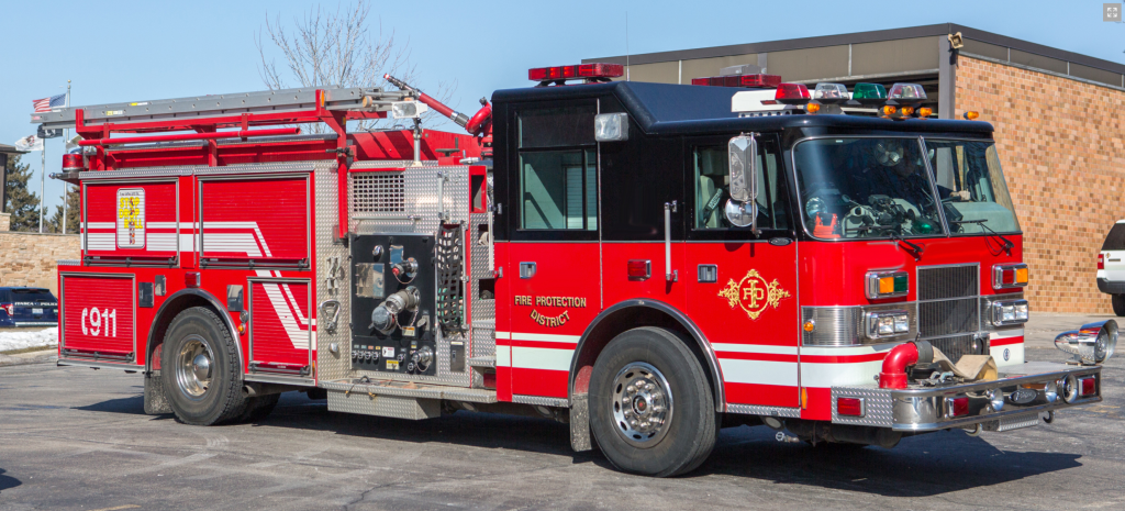 1999 Pierce Lance fire engine for sale