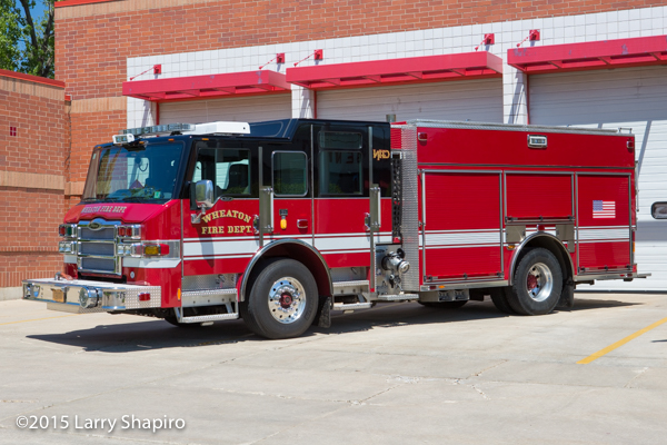 Wheaton Fire Department Engine 37 Pierce Impel PUC