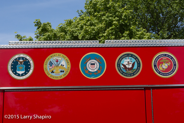 Wheaton FD reserve engine dedication to the Armed Forces