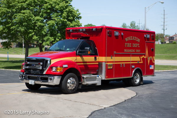 Ford F650 Type 1 Horton ambulance