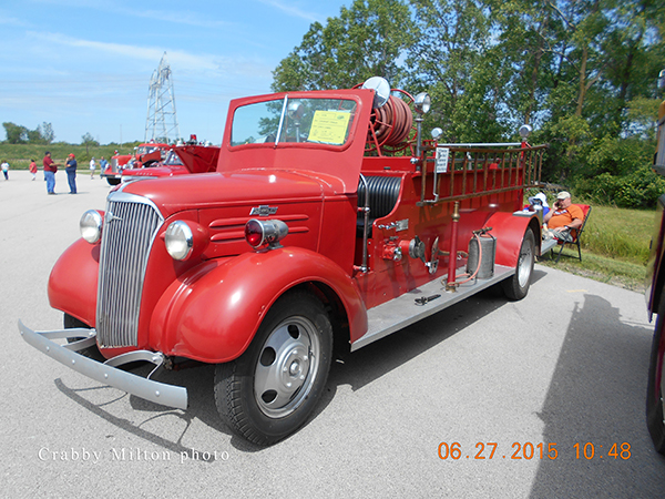 1937 CHEVROLET DARLEY fire engine