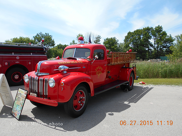 1942 FORD PIRSCH fire engine