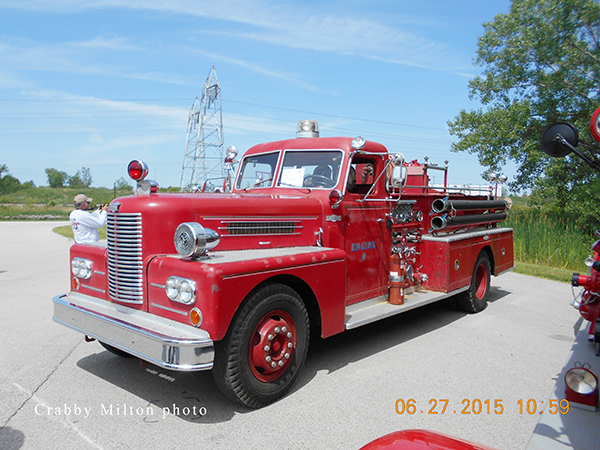 1963 PIRSCH fire engine ex. Racine