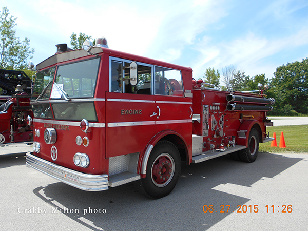 1963 WARD LaFRANCE fire engine ex Racine