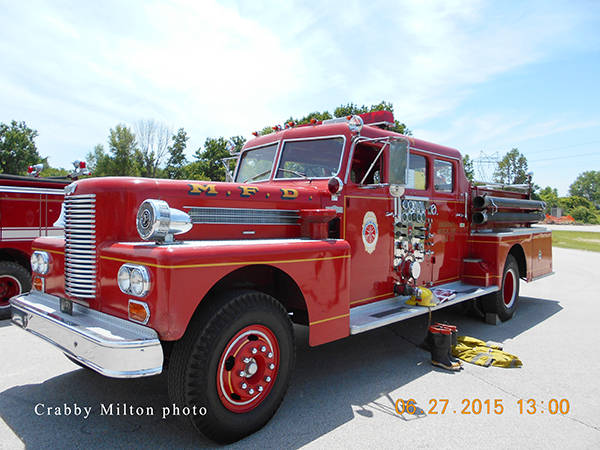 1972 PIRSCH fire engine ex Minneapolis