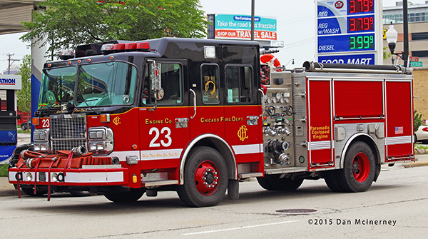 Chicago FD Engine 23