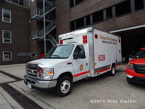 Chicago FD Mobile Battery Vehicle 639
