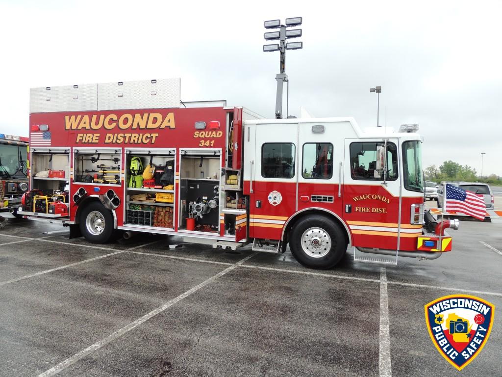 Wauconda Fire District fire truck