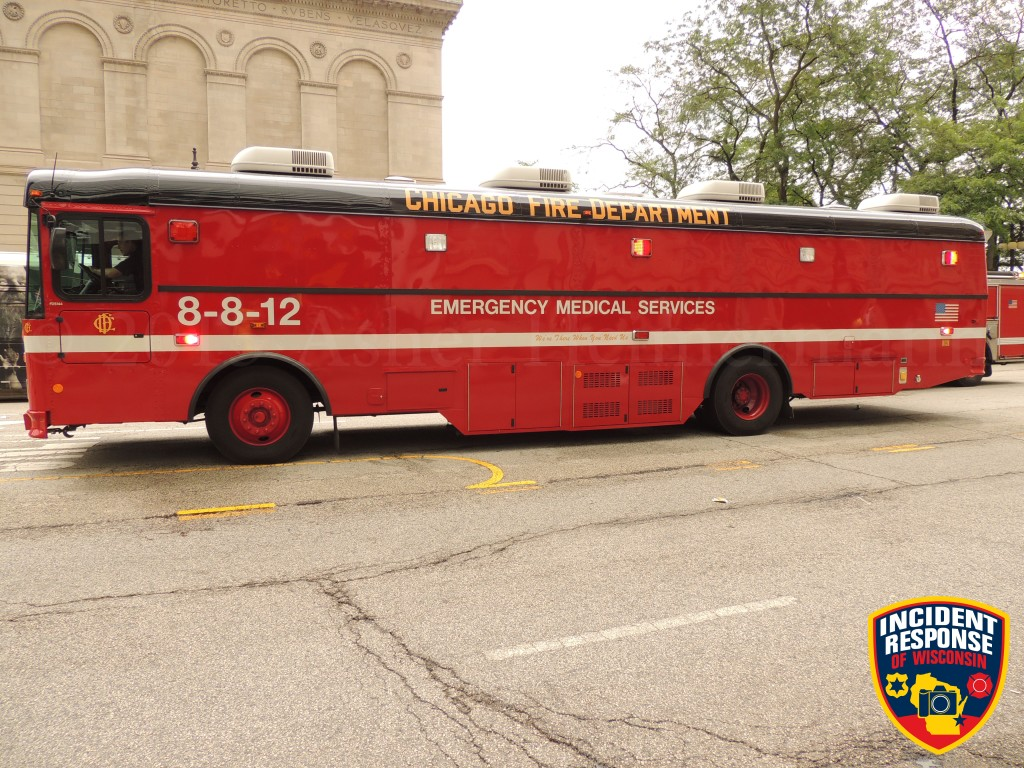 Chicago FD Emergency Medical Bus