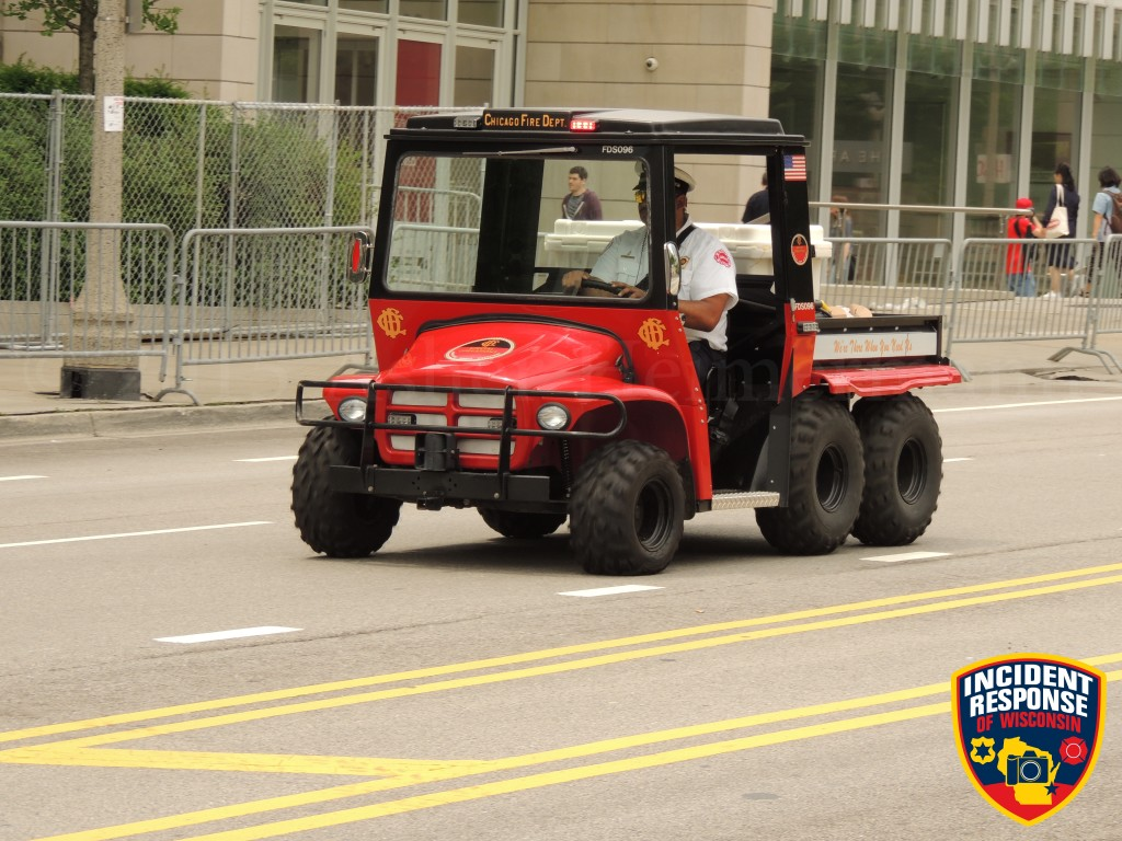 Chicago FD special events ATV