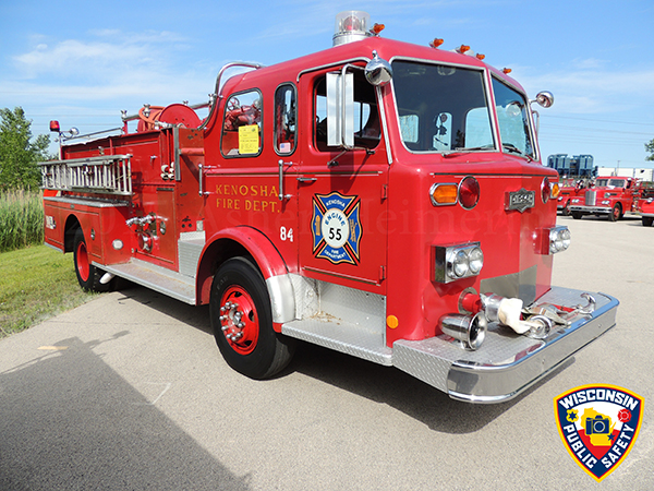 1975 Pirsch fire engine