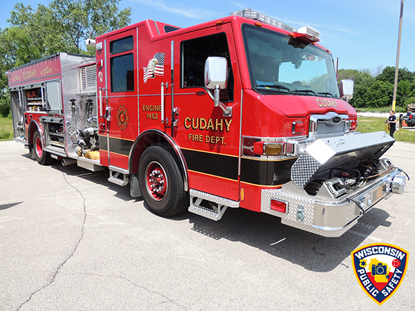 Cudahay fire engine