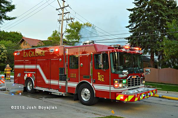Ferrara fire engine in la Grange IL