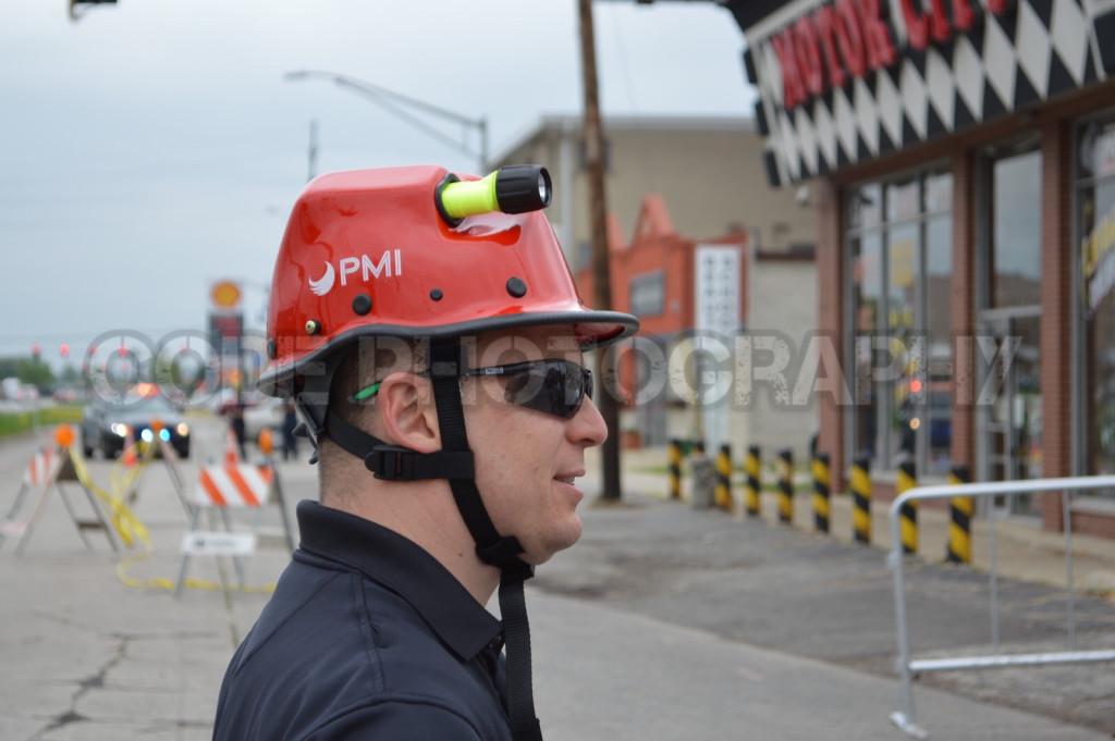 fireman with TRT helmet