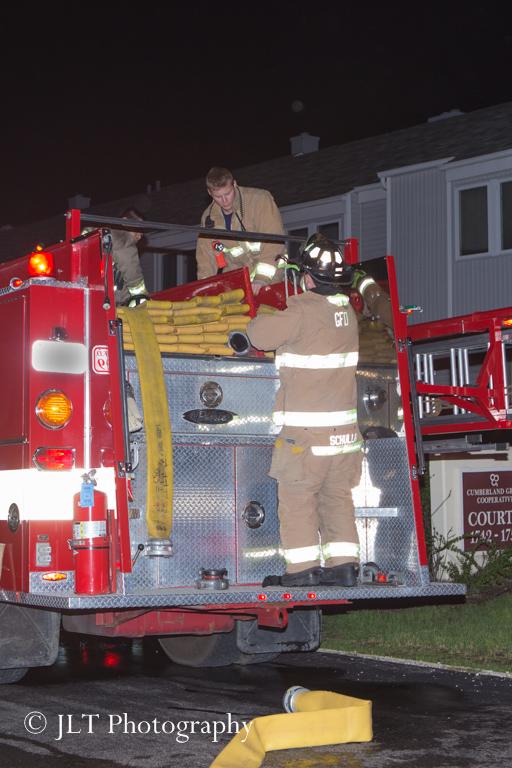 fireman on fire truck