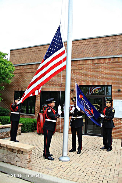 fire department honor guard