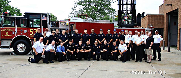 Lincolnshire Riverwoods FPD 75th Anniversary open house