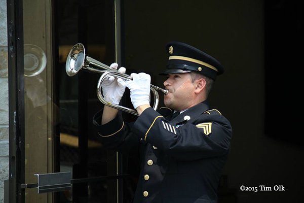 bugler playing taps