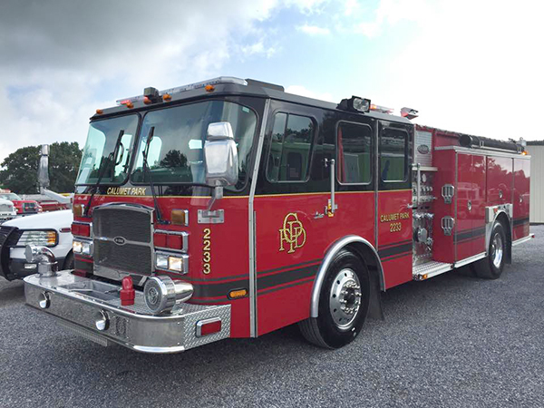 Calumet Park fire engine