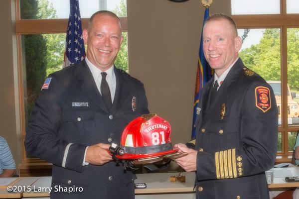 fire department promotion