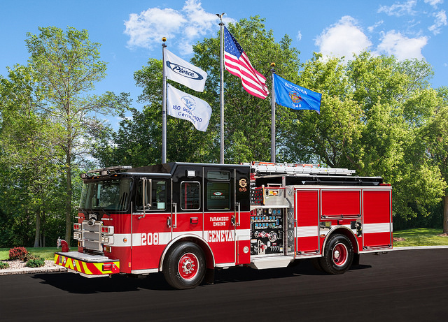 Geneva Fire Department fire engine