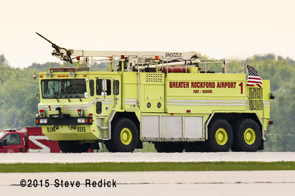 Greater Rockford Airport ARFF crash truck