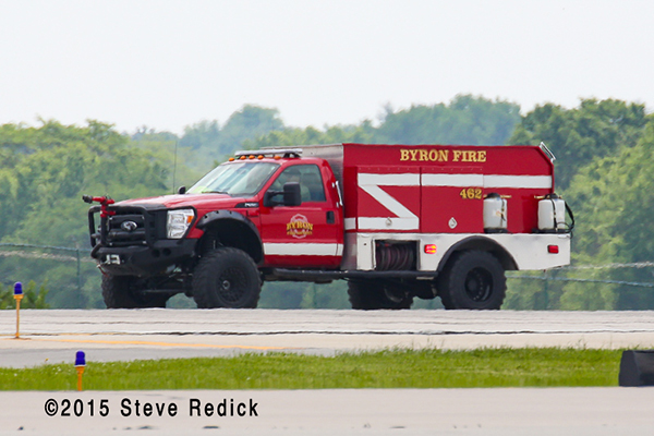 Byron Fire Department mini pumper