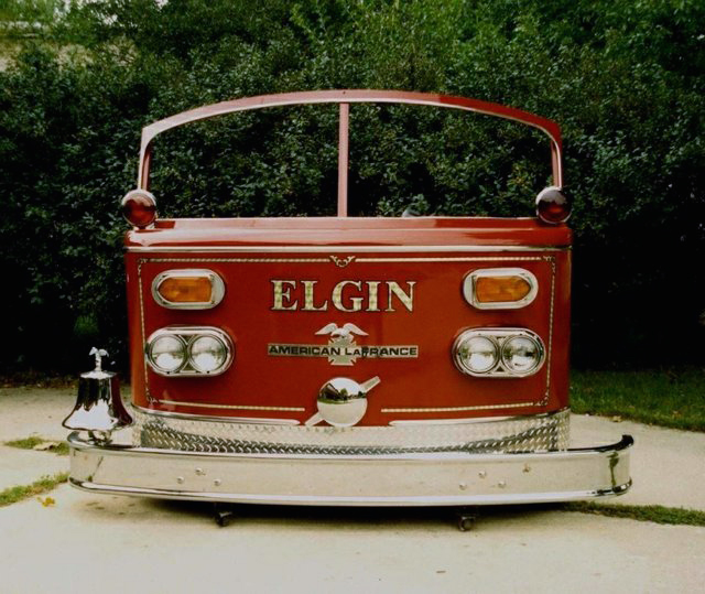 American LaFrance fire engine cab front