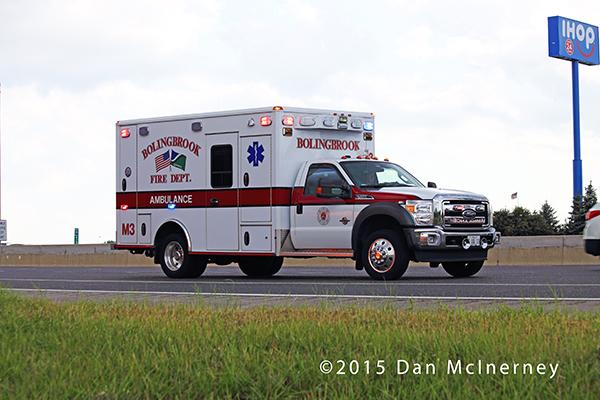 Bolingbrook FD ambulance