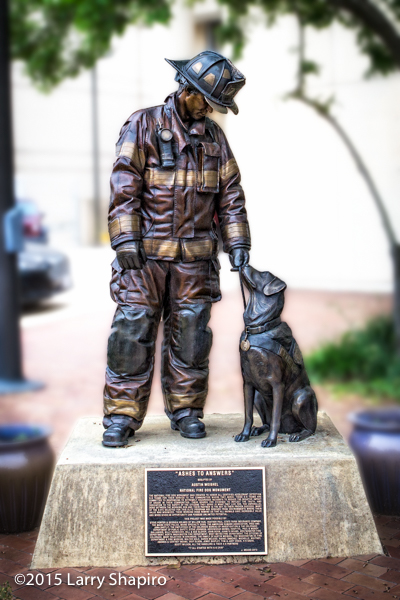 National Fire Dog Monument in Washington, DC