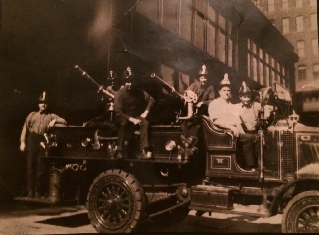Fire truck 1920s