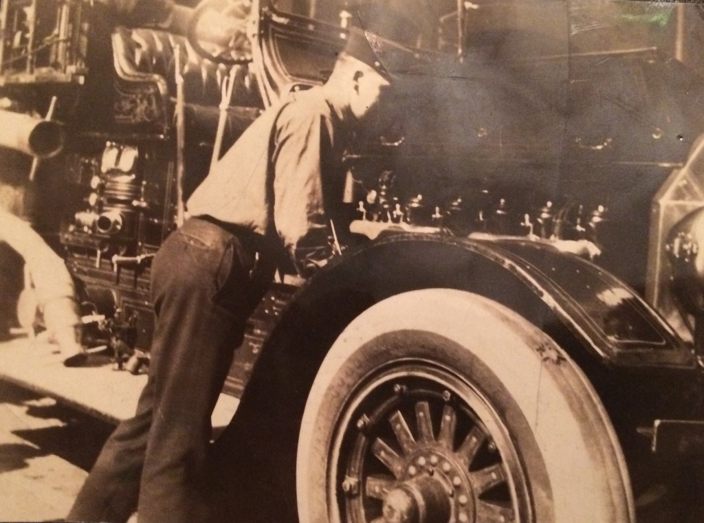 Fireman 1920s possibly Capt John Brennen