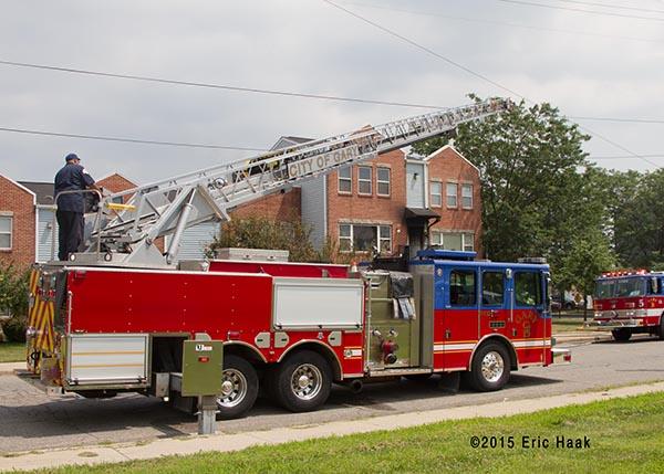Gary FD ladder truck