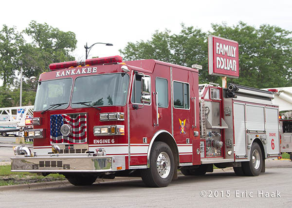 Kankakee fire engine