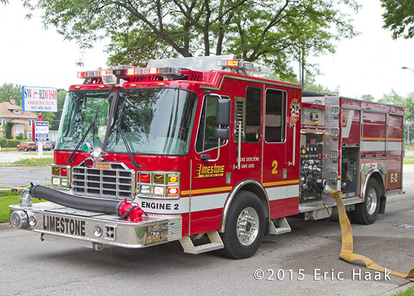 Limestone FPD fire engine