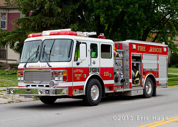 Grant Park FPD fire engine
