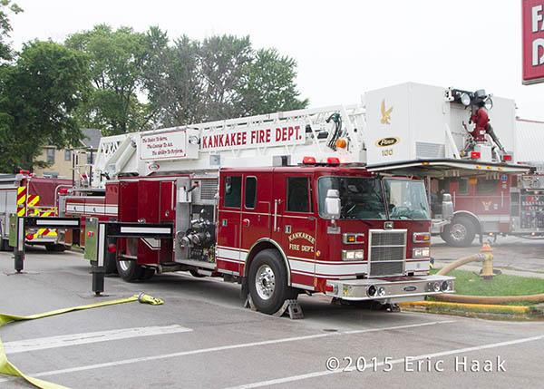 Kankakee fire truck