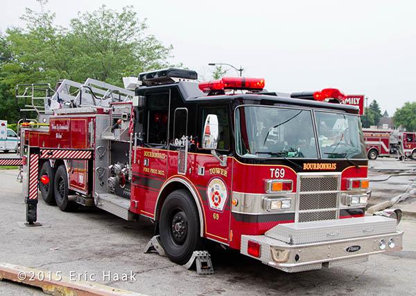 Boubonais fire truck