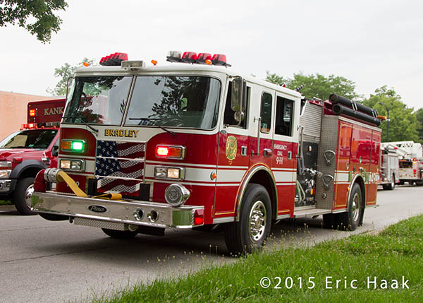 Bradley FD fire engine