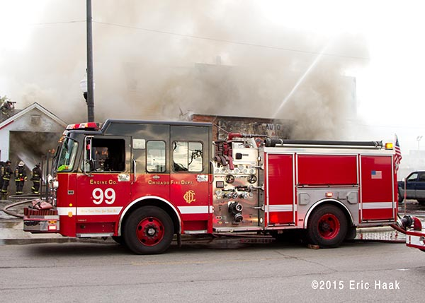 Chicago FD Engine 99