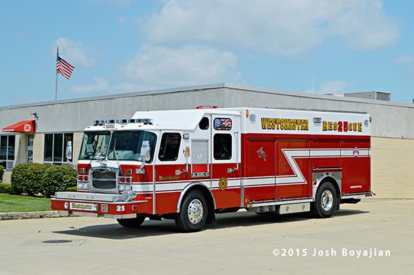 Westchester FD rescue squad