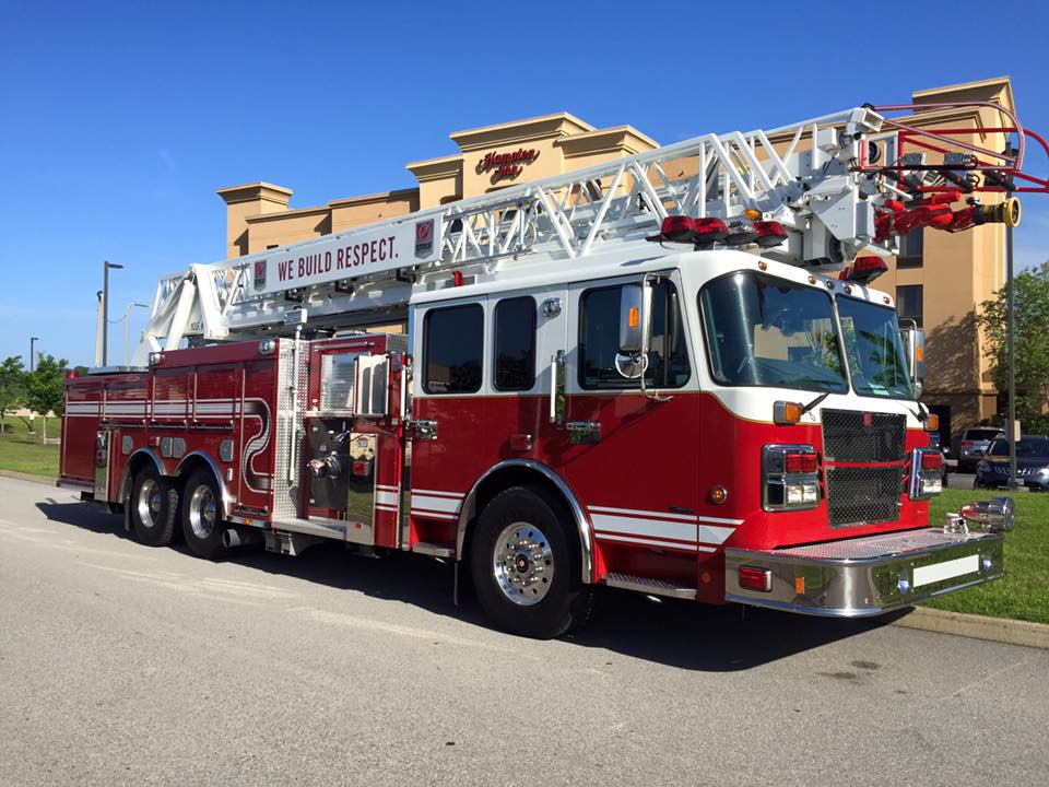 new fire truck for the Romeoville Fire Department
