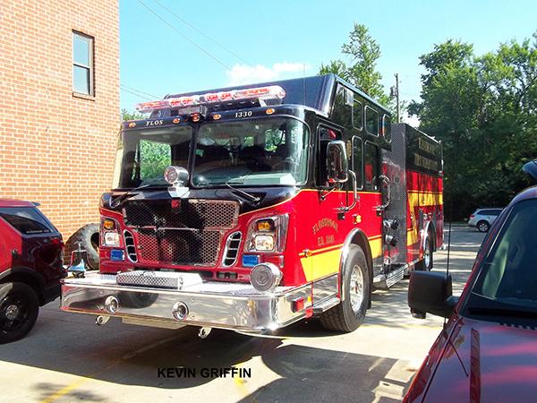 Spartan fire engine