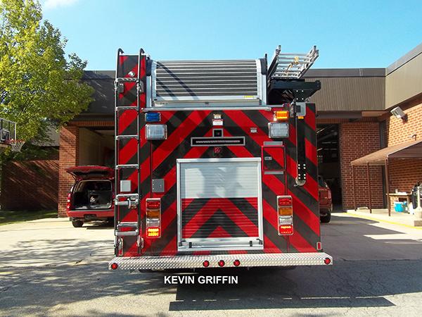 chevon striping on fire engine