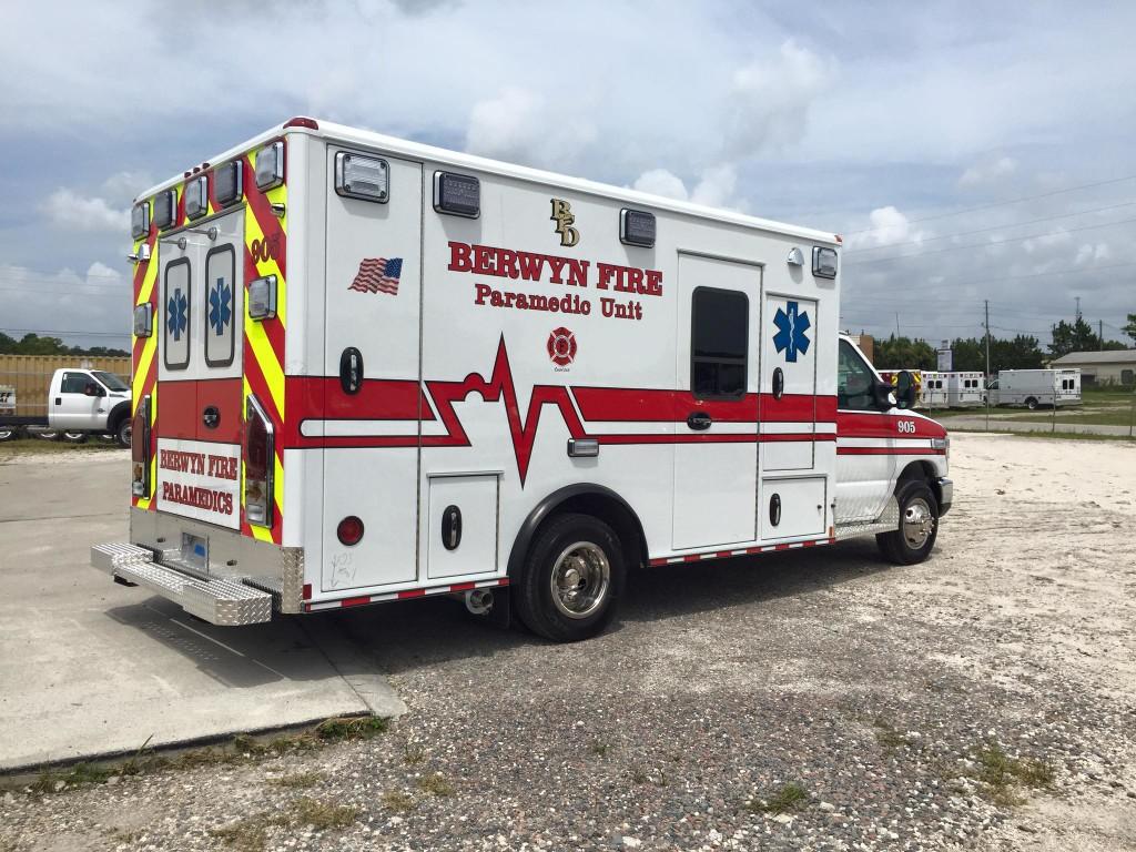 new Berwyn FD ambulance