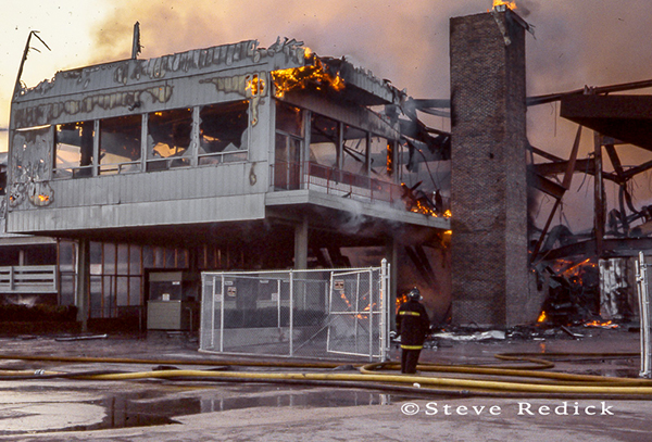Hawthorne Race Track grandstand fire of 1978